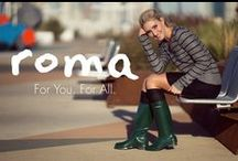 Spring Fashion / The most fashionable rain boots are Roma Boots at www.romaboots.com