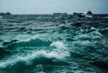 La Playa / The beach. The ocean. The sea.