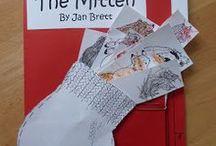 Author Study - Jan Brett / author study book Jan Brett education read The Mitten activities