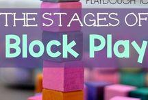 Blocks / block center math education learn pre-school pre-K PK Kindergarten