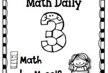 Daily 5 Math / This is what students are practicing while I'm pulling Guided Math or conferring during Math Workshop time.