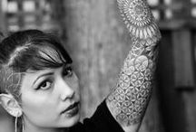 tattoos / Our bodies are our temples. Why not decorate the walls? / by Sarah Curry