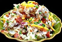 Healthy Salad Recipes / It's true that healthy salad a day keeps the doctor away and brightens up any meal. We have gathered the best salads and dressings from every corner of the world which you can try out to add great taste and variety to your main course.