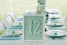 Wedding Table Number! / Los números no siempre son divertidos pero en las mesas de los invitados si!