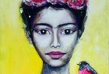 Artworks in progress by Tanya Cole / Artworks in progress by Tanya Cole