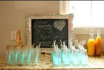 Wedding Candy - Blue Theme / From candy carts to centre pieces, sky blue to deep, dark navy. A blue candy dreamworld!