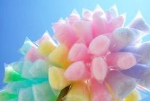 Wedding Candy - Pastel Theme / From candy carts to centre pieces, pastel pink to the palest lemon green. A subtle and beautiful candy dreamworld!