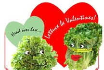 Food and Veggie Valentines / There's nothing like Valentine puns! / by Weaver Street Market