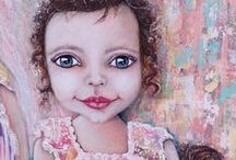 Tanya Cole Art ~ Commissioned Paintings / Unique commissioned Art works created and painted by Tanya Cole. Collect and invest in unique art work that speaks to you. Original Intuitive & Mixed Media Paintings that tell your story and the stories of your heart.
