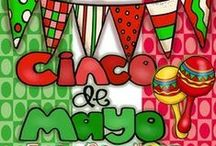May 5th/ 5 de Mayo  Best TPT Creations / Feel free to pin and collaborate with creations related to May 5th or Cinco de Mayo