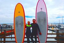 Paddle Boarding / Pictures of Paddle Boarding in Monterey, Pacific Grove and Carmel.