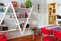 Drabinowe inspiracje na półki / ... czyli jak tchnąc nowe życie w stare rzeczy, wyjątkowo urządzając swój dom :)