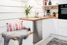 Skandynawskie kuchnie / Garść inspiracji na to, jak urządzić swoją kuchnię w stylu skandynawskim! ;)