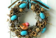 Wreath and garland / Ghirlande e decori