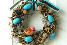 Wreath and garland / Ghirlande e decori / by giovannamaria 62