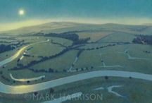 East and West Sussex landscapes / representational paintings and photos  / by Marion Ruth