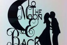 Lunas de Otoño / Aprovecha las hermosas lunas de Octubre y decora tu boda.