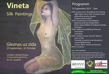 TCH Vineta 'Silk Paintings' Exhibition