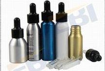 E-liquid Bottle -EBI China / Custom aluminum screw bottle for E-liquid. See more at http://www.ebi-china.com