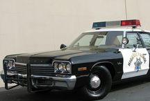 US Police Cars / Classic and modern