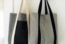 Couture - Sacs / idées à coudre - pochettes-sacs tote bag besace pochons