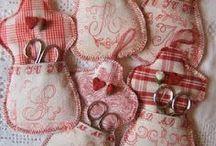 Accessoires de couturière / accessoires pour couture tricot pique aiguilles sac machine à coudre étui ciseaux
