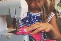 Apprentissage couture enfants