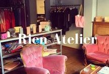 Rien's Athens Atelier / Photographs from Rien's atelier in Athens. Different elements that depict our sence of #style, fashion and aesthetics.