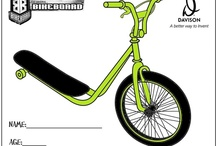 BikeBoard Coloring Contest