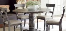 Stylish Dining Room Tables & Furniture / Dining Tables, Formal Tables, Contemporary Tables, Traditional Tables, Kitchen Tables, Pub Tables, Dining Chairs, Buffets, Bars, Cabinets, Wine Racks, & More... Choose from today's top styles & trends in Dining Room Furniture at My Rooms Furniture Galley!