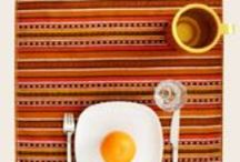 Colorful Tablesettings / Color-color-color.   Colorful Table Runners, Bowls, Plates and much more Dinnerware. For happy & colorful tablescapes.