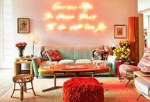 #Atmosphere / Самые уютные и радующие глаз интерьеры. Погрузитесь в атмосферу красок и дизайнерских решений!