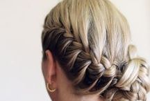 Long hair creation / hairstyles, clips, splicing and combination