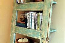 BOOKCASE & HANGERS & RACK & SHELF