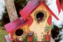BIRD HOUSE σπιτι για πουλιά