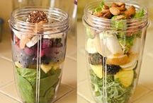 smoothies + detox water
