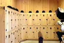 Garderobe stall