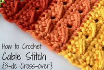 Crochet stitches and tutorials