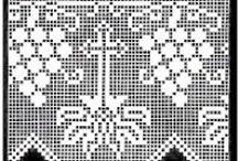CROCHET RELIGIOUS ELEMENTS / filet - crochet