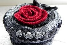 CROCHET - VARIA / stiches, bags, boxes, rugs etc.