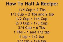 Baking/Cooking Tips