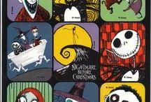 Tim Burton's style / Great drawings in Tim Burton's style.