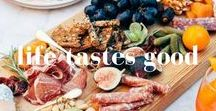 Life tastes good / We love food. Proper food is a journey to different tastes, cultures and traditions.