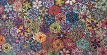 crochet doilies & modular patterns / Modelli modulari a crochet