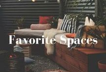 Favorite Spaces / We love all those cozy cornes that sometimes you can hide from the rest of the world and relax.