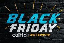 Black Friday Calitta Brasil 2016 / Banners da Campanha de Marketing Black Friday Calitta Brasil 2016. Todas as promoções e super ofertas durante todo o mês.