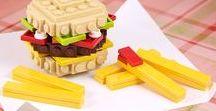 Lego Ideen / Lego, mit Lego bauen, freies Spielen mit Lego, Lego Hacks, Bauanleitungen und alles, was Lego-Fans cool finden