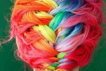 Awesome Hair To Dye For! / Colorful hair, rainbow hair, pretty hair styles, purple hair, pink hair, blue hair / by Dody D.