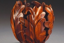 Wood Carving Arts (carving, chipping, turning, etc.) / by Brookshire's Arts