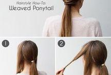 Hairspiration / Des coupes, coiffures et tutoriels qui nous inspire!